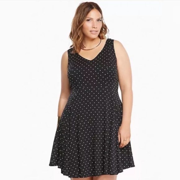 6ecdb3150 torrid Dresses | Polka Dot Dress Size 16 Plus Size | Poshmark